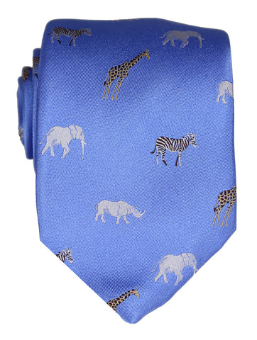 DÉCLIC Ark Day Pattern Tie - White
