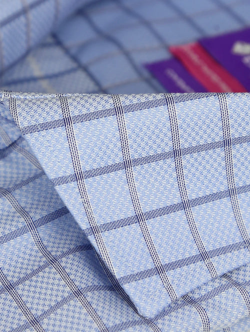 DÉCLIC Hendy Check Shirt - Blue