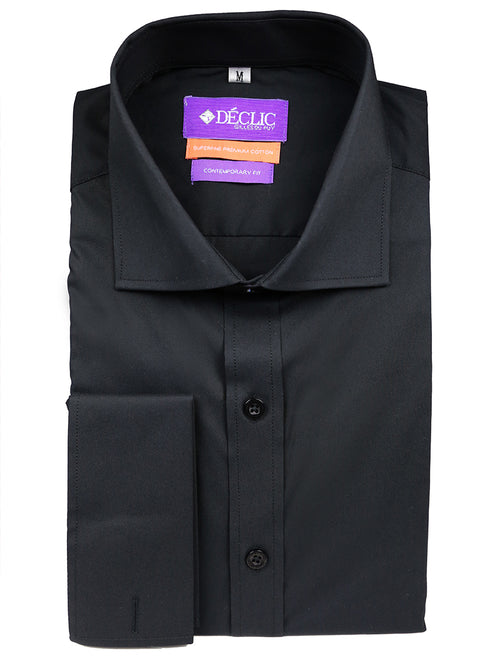 DÉCLIC 'Easy Travel' Plana Shirt - Black