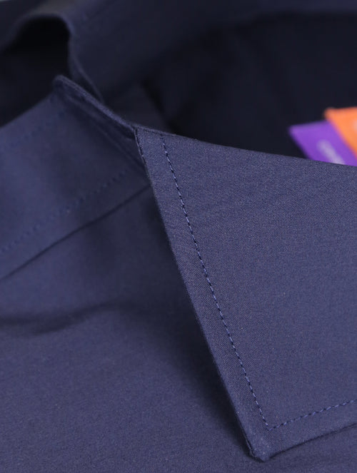 DÉCLIC 'Easy Travel' Plana Shirt - Navy