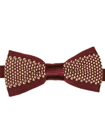 DÉCLIC Briller Knitted Bow Tie - Black