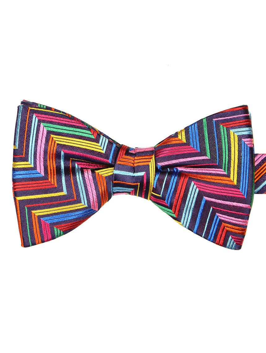 DÉCLIC Vesta Pattern Bow Tie - Assorted