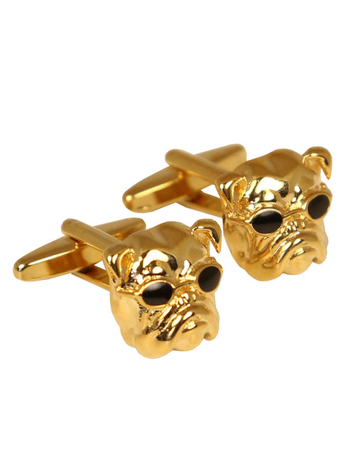 DÉCLIC Bulldog Sunglasses Cufflink - Gold
