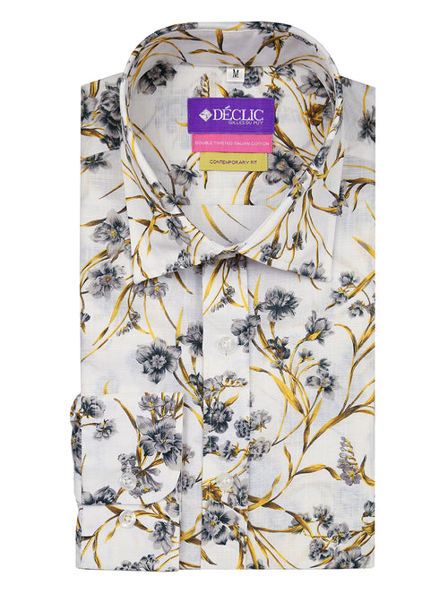 DÉCLIC Harvest Print Shirt - Assorted