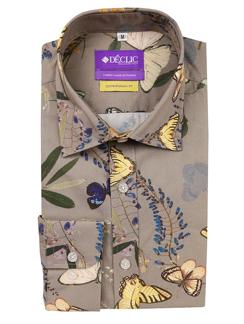 DÉCLIC Lepidopterarium Print Shirt - Assorted