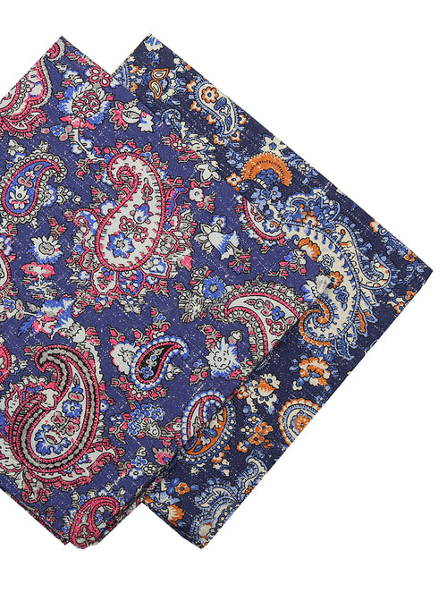 DÉCLIC Ceris Paisley Hanky - Assorted