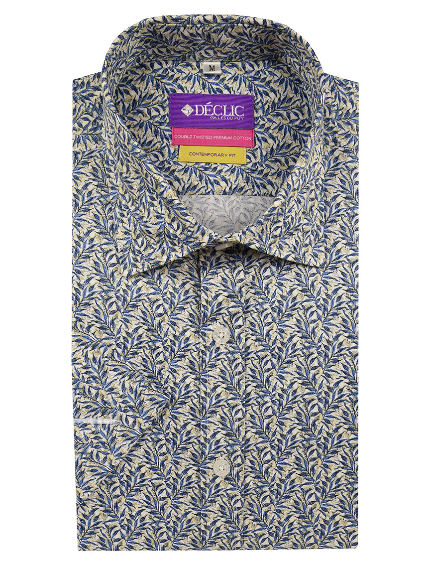 DÉCLIC Canopy Print Short Sleeve Shirt - Assorted