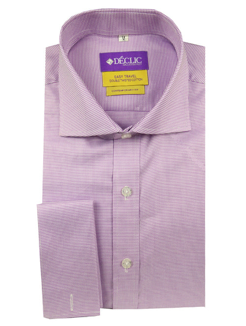 DÉCLIC 'Easy Travel' Tours Patterned Shirt - Purple