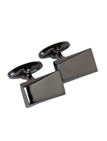 DÉCLIC Paisley Oval Cufflink - Red