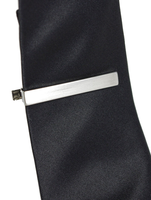 DÉCLIC Plain Brushed Tie Bar