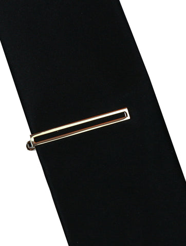 DÉCLIC Anchor Tie Bar - Silver