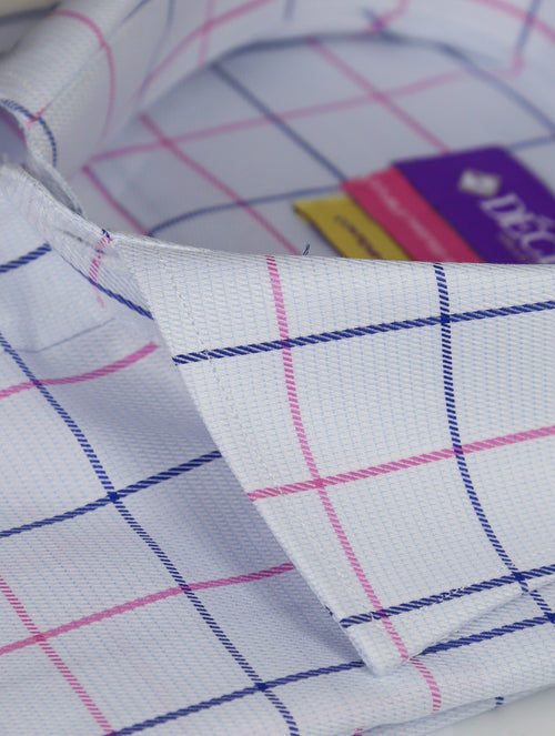 DÉCLIC Lorenzo Check Shirt - Pink