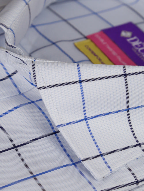 DÉCLIC Lorenzo Check Shirt - Blue