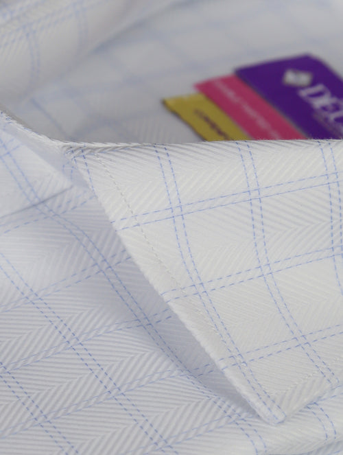 DÉCLIC Puglia Check Shirt - White