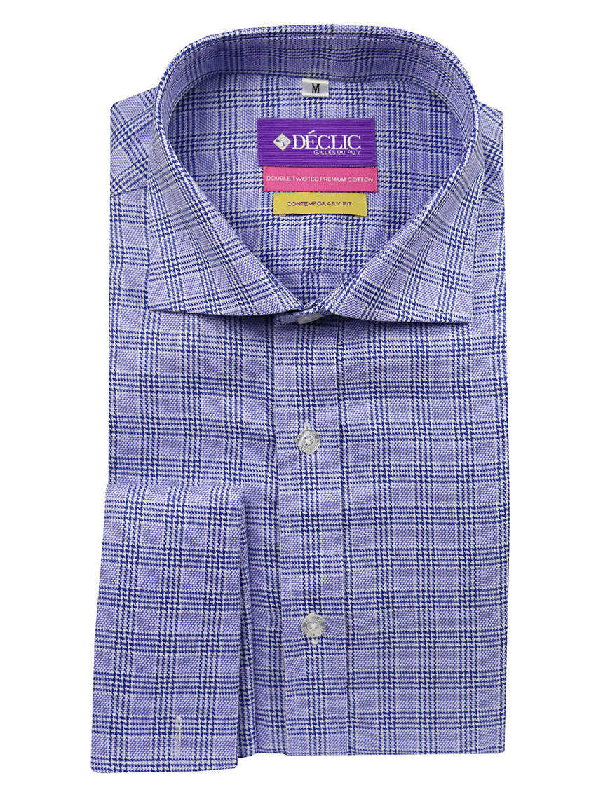 DÉCLIC Brady Check Shirt - Blue
