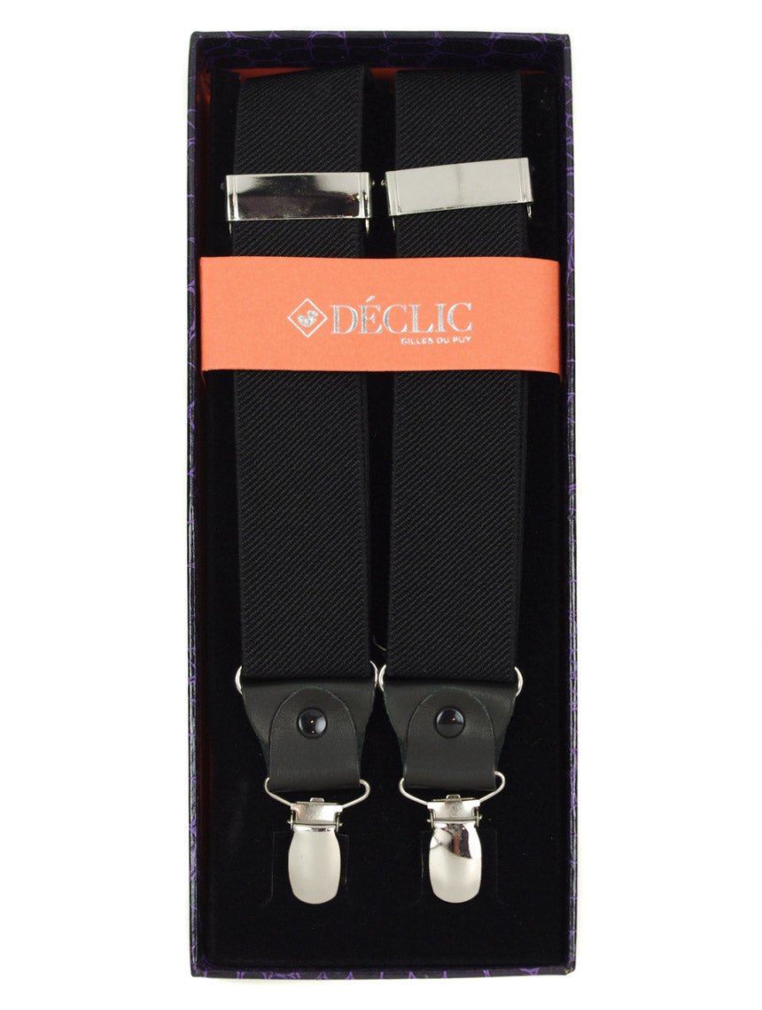 DÉCLIC 35mm Clip Braces - Black