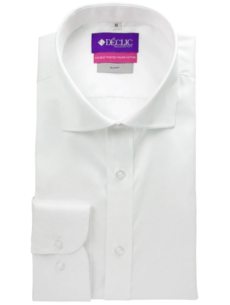 DÉCLIC Sel Slim Shirt - Single Cuff