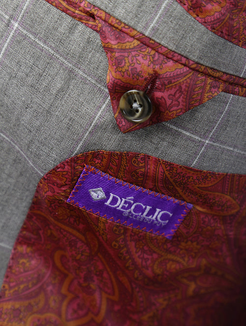 DÉCLIC Cantello Check Jacket - Stone
