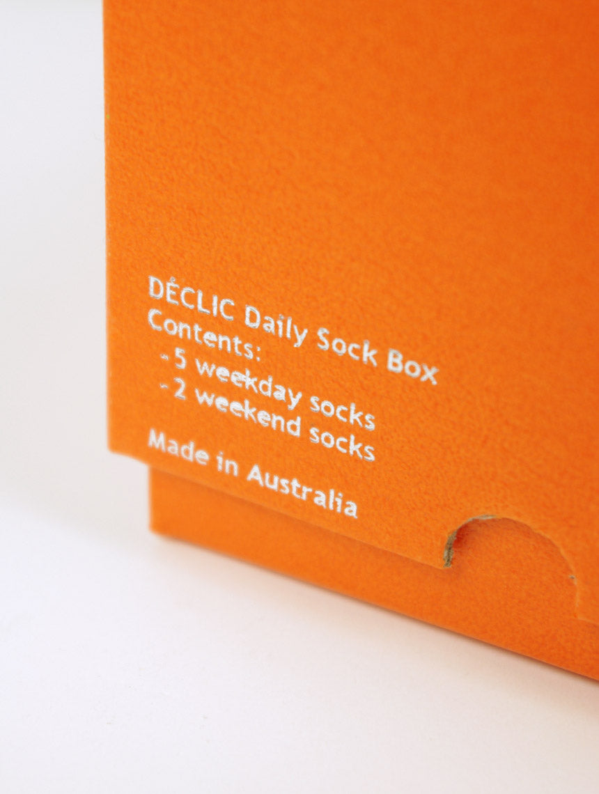 DÉCLIC Daily Sock Box