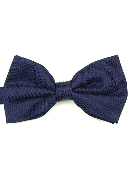 DÉCLIC Ribbed Bow Tie - Navy