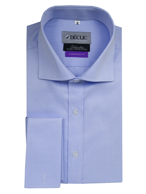 DÉCLIC Fillion Contemporary Shirt - Blue