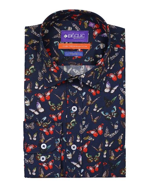 DÉCLIC Falter Print Shirt - Assorted