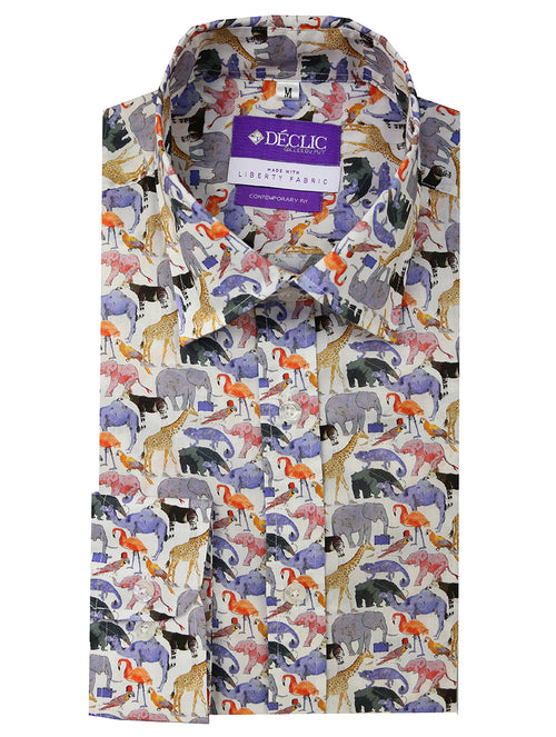 Liberty Zoo Print Shirt - Assorted