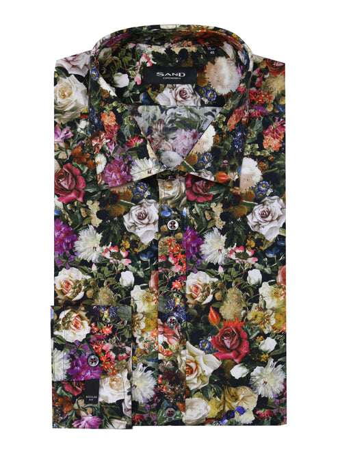 SD Rose Garden Print Shirt - Assorted