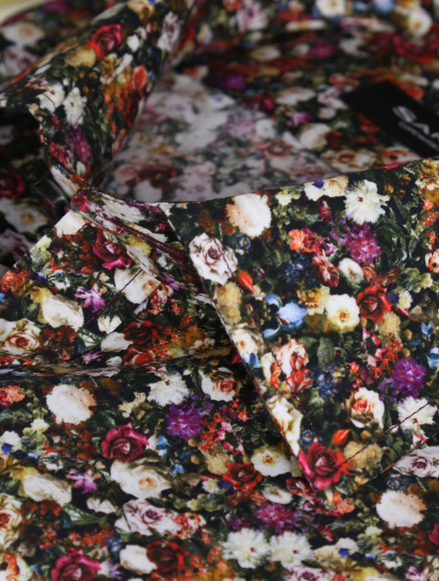 SD Floral Bed Print Shirt - Red