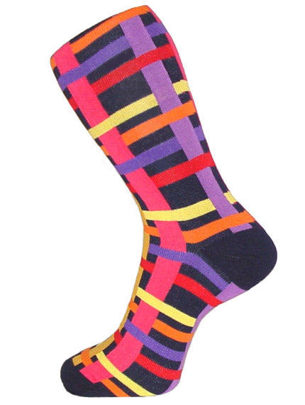 DÉCLIC Weave Socks - Navy