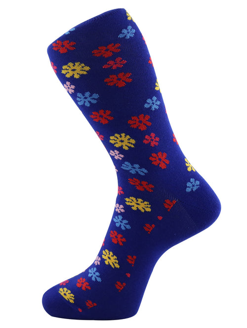 DÉCLIC Splat Socks - Blue