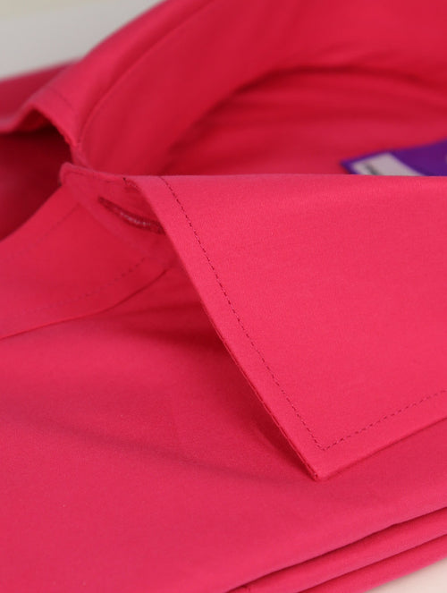 DÉCLIC Koral Plain Shirt - Fuschia