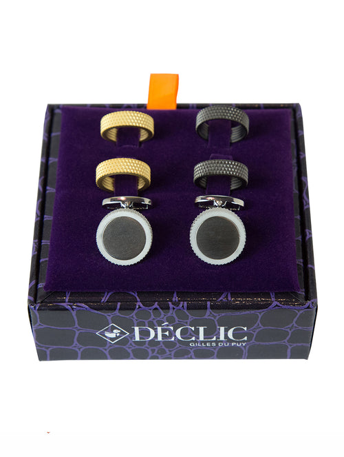DÉCLIC 3-Ring Screw Cufflinks