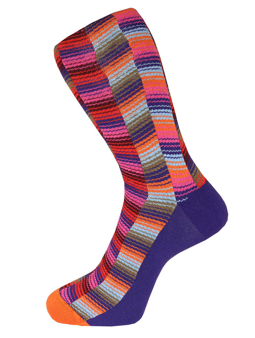 DÉCLIC Raffle Socks - Purple
