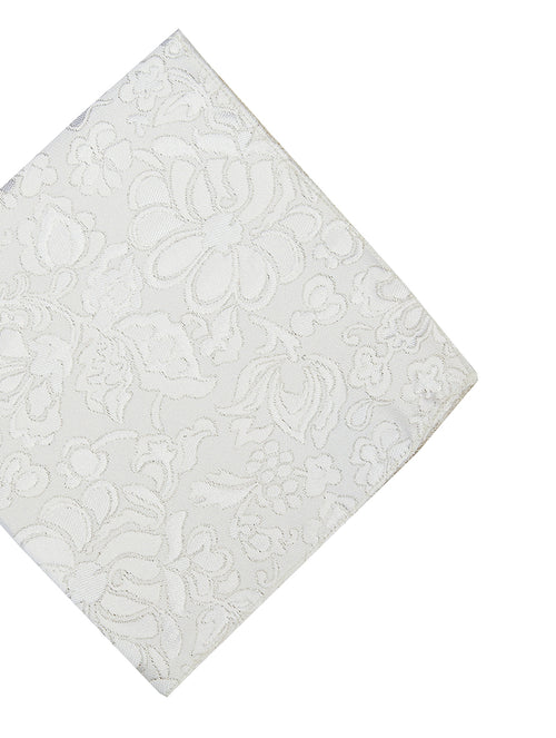 DÉCLIC Trace Pocket Square - Off-White