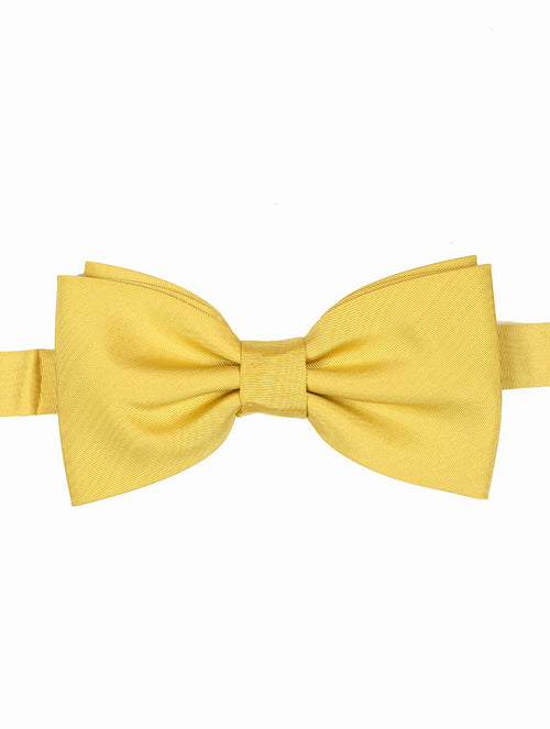DÉCLIC Moire Bow Tie - Yellow