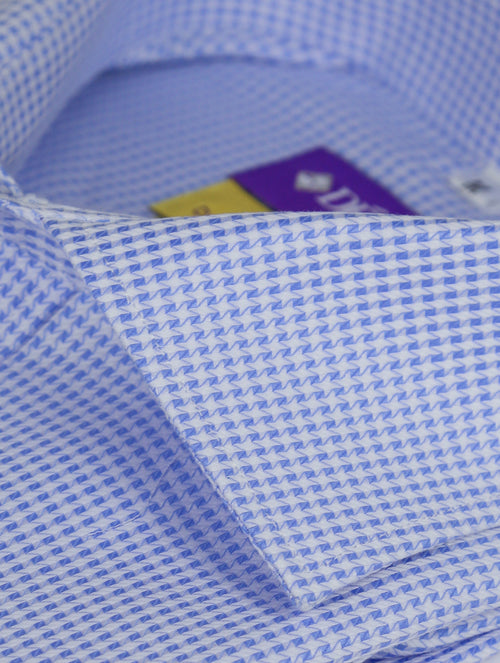 DÉCLIC 'Easy Travel' Jaunt Patterned Shirt - Blue