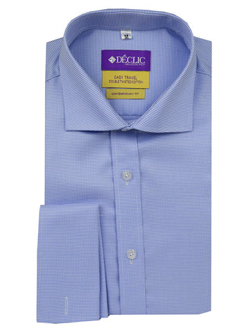 DÉCLIC Kamouflage Short Sleeve Print Shirt - Blue