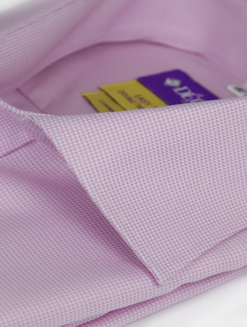 DÉCLIC 'Easy Travel' Tours Patterned Shirt - Pink