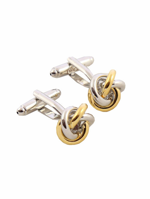 DÉCLIC Nucleus Knot Cufflink - Assorted