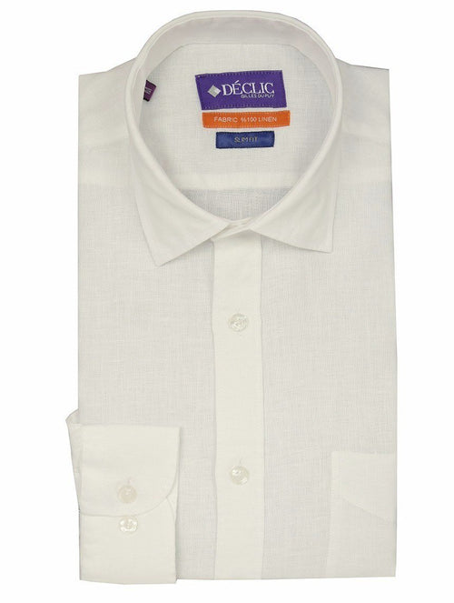 DÉCLIC Del Mar Linen Shirt - White