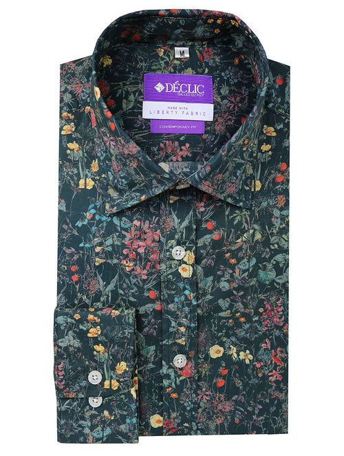 Liberty Patch Print Shirt - Assorted