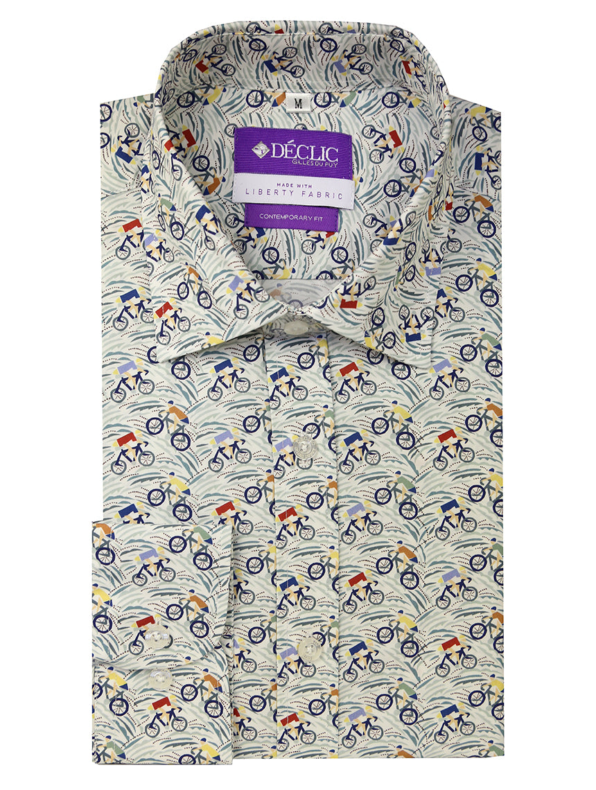 Liberty Cycle Print Shirt - Assorted