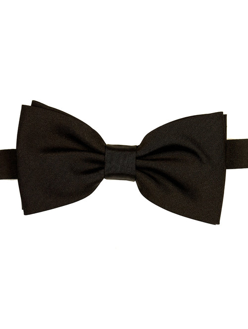 DÉCLIC Moire Bow Tie - Black