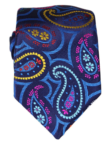 DÉCLIC Badiner Paisley Tie - Purple