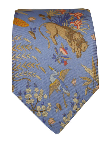 DÉCLIC Gravira Paisley Tie - Orange
