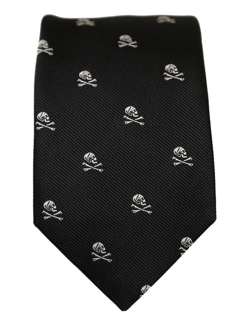 DÉCLIC Jolly Roger Bandana  Tie - Black
