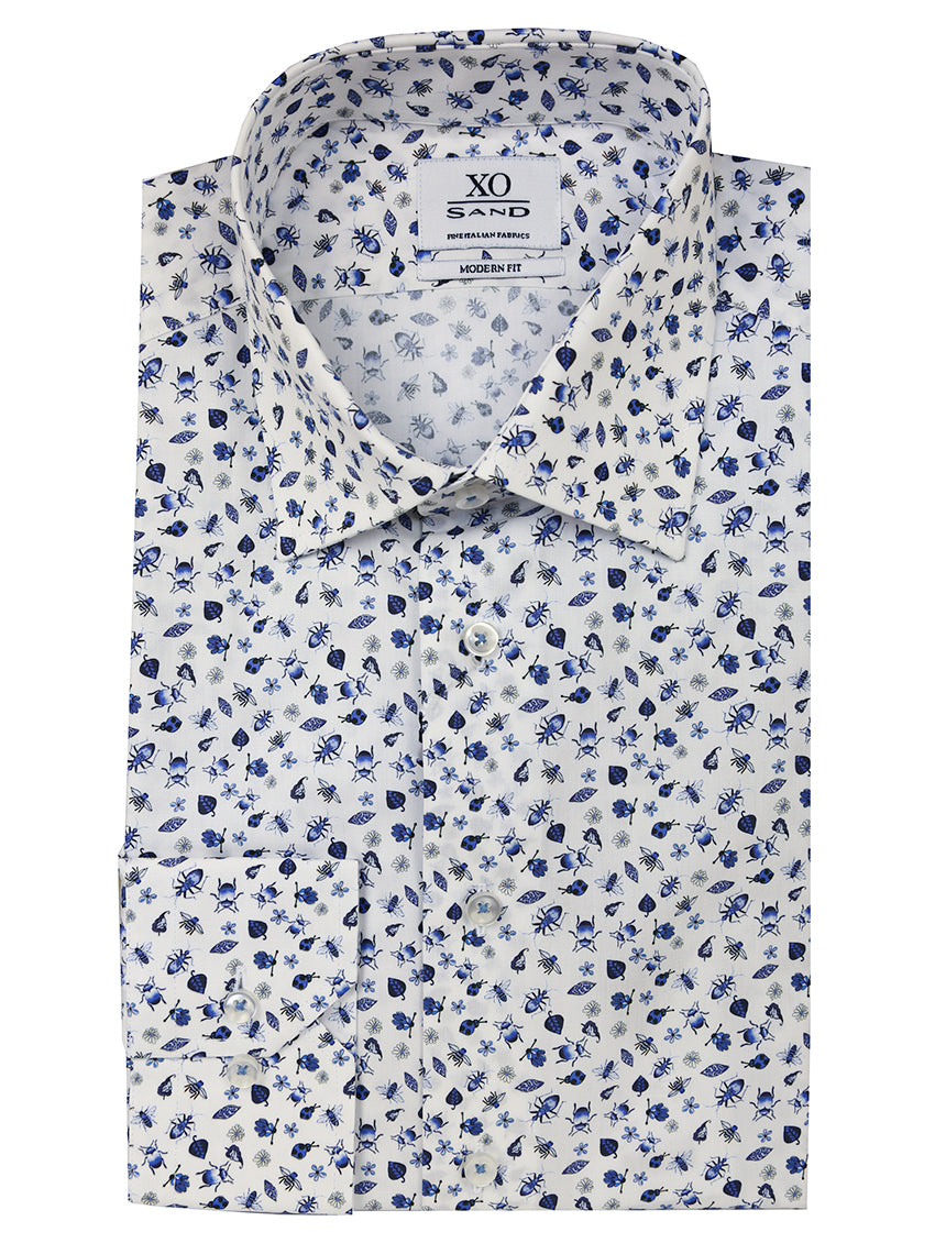 SD Critter Print Shirt - Blue