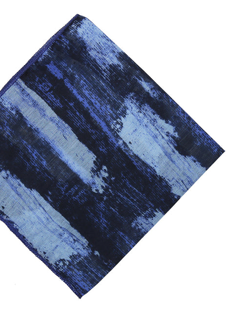 DÉCLIC Painted Tuile Hanky - Navy