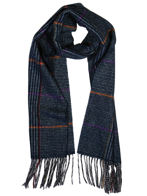 DÉCLIC Bysshe Check Scarf - Assorted